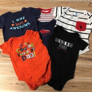Other - Lot of 6 3-6 Months Onesies Short Sleeve